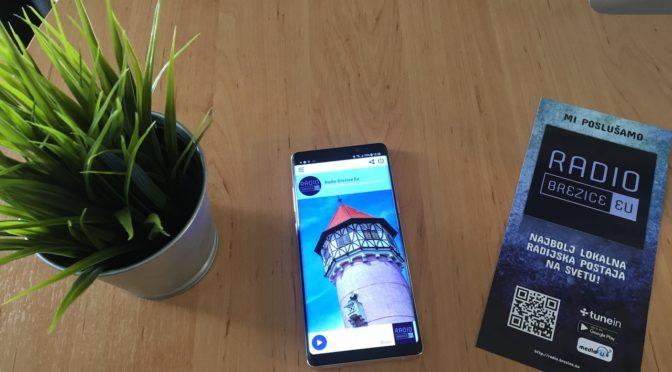 Navodila za namestitev mobilne aplikacije radio brežice eu
