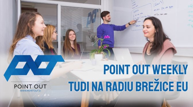 POINT OUT Weekly, oddaja za podjetnike