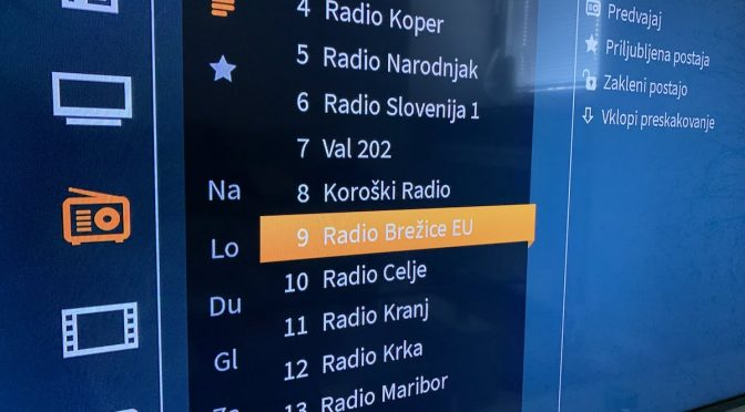 Radio Brežice Eu na T-2 TV