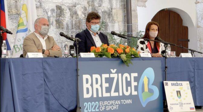 Bodo Brežice Evropsko mesto športa 2022?